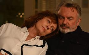 Susan Sarandon and Sam Neill in the 2019 film Blackbird