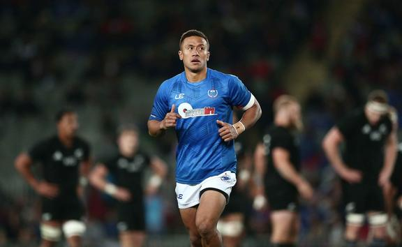 Tim Nanai-Williams switched his allegiance from New Zealand to Samoa.