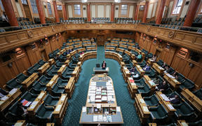 Wide view of Parliament's Debating Chamber