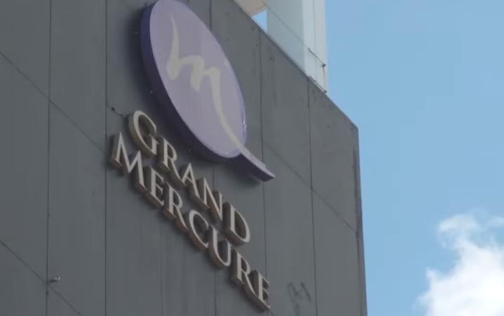 Grand Mercury in Auckland using an organized solitude facility.