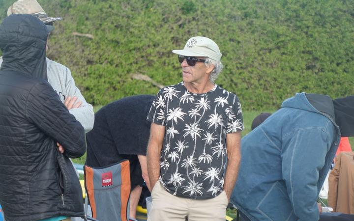 Coromandel's Tony Keyworth at the Easter Masters