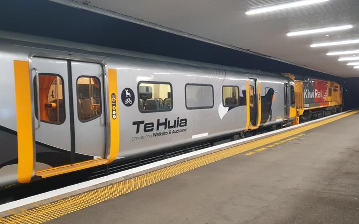 Te Huia train
