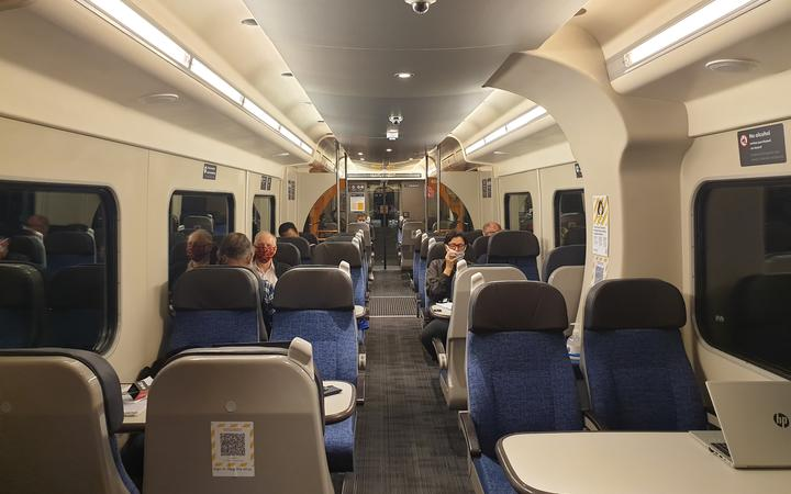 Te Huia commuter train service between Waikato and Auckland.