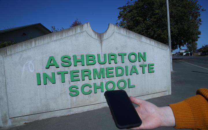 Ashburton Intermediate School.