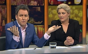 Mike Hosking airs a controversial opinion on New Plymouth mayor Andrew Judd on TVNZ's Seven Sharp last month.