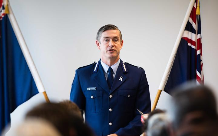 Police commissioner Andrew Coster