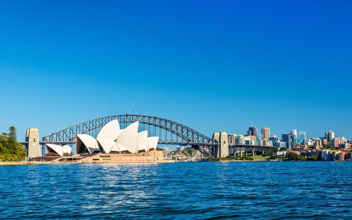 Sydney Opera House and Harbour Bridge - Australia, New South Wales