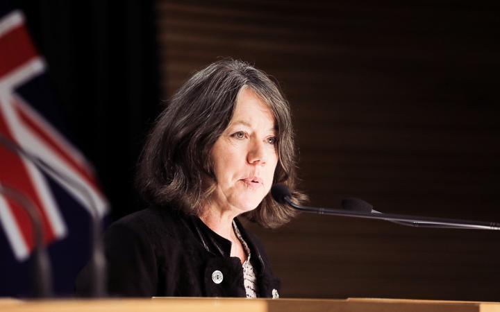 NZ Director of Public Health Dr Caroline McElnay