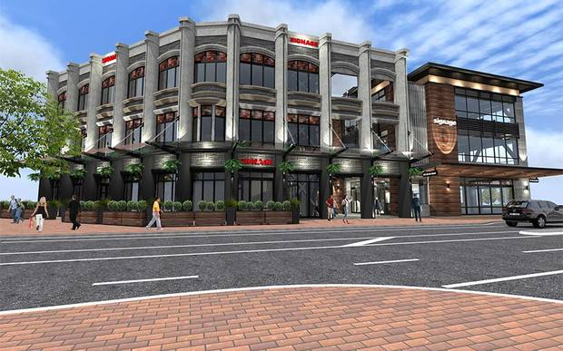 Chch developers in fight over resource consent rnz news artists impression of richard peebles 50m retail and office development for high st christchurch photo supplied malvernweather Image collections