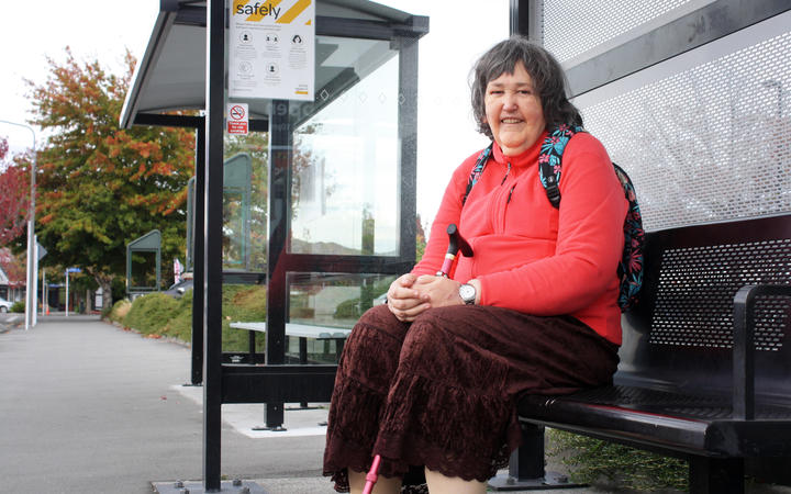 Retiree Karen Deakin says she uses the south-west bus to visit Blenheim