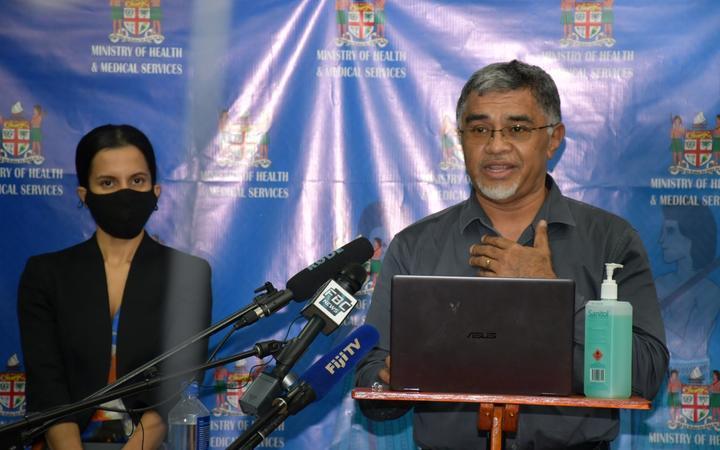 Dr Aalisha SahuKhan and Dr James Fong.