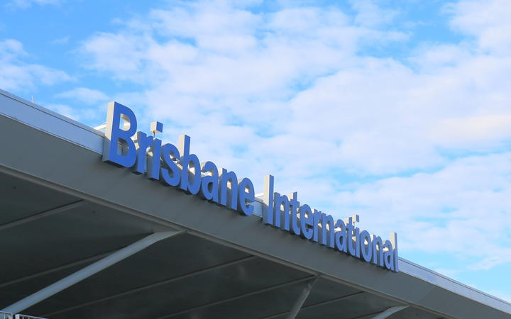 Brisbane International Airport.