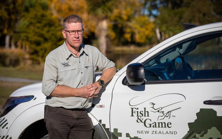 Fish and Game South Island spokesperson Richard Cosgrove.