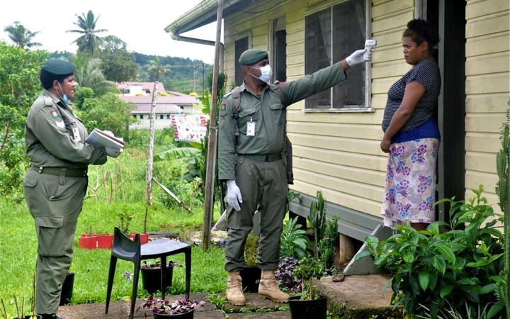Contact tracing underway in Fiji.