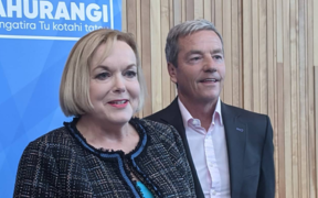 Judith Collins at the National Party conference in Auckland