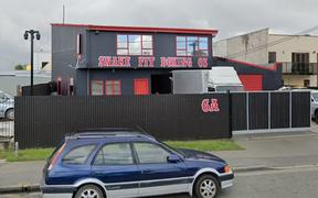 The Snake Fit Boxing Gym in Christchurch is the King Cobra gang pad.