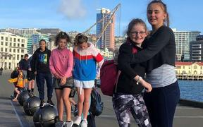 Year 7 and 8s from rural and remote schools on the 2019 Wellington camp