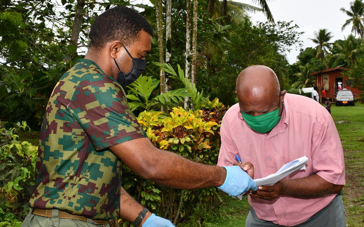 Fiji aims to vaccinate 600,000 of its population against Covid-19.