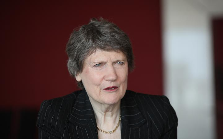 Former NZ Prime Minister Helen Clark