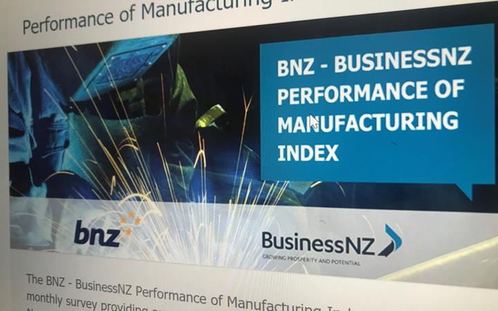 BNZ-Business New Zealand Performance of Manufacturing Index