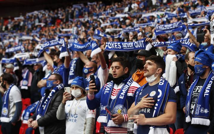 FA Cup glory: Fans roar back at Wembley for Leicester triumph