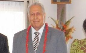 The head of State of Samoa, Tuimaleali'ifano Va'aleto'a Sualauvi II