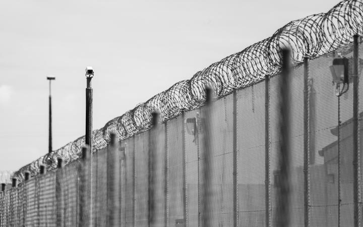Christchurch men's prison fence and security