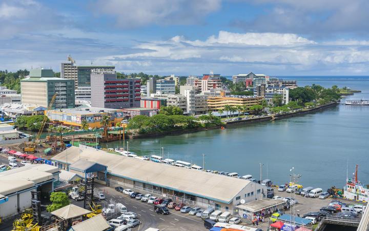Suva, Viti Levu - Fiji.
