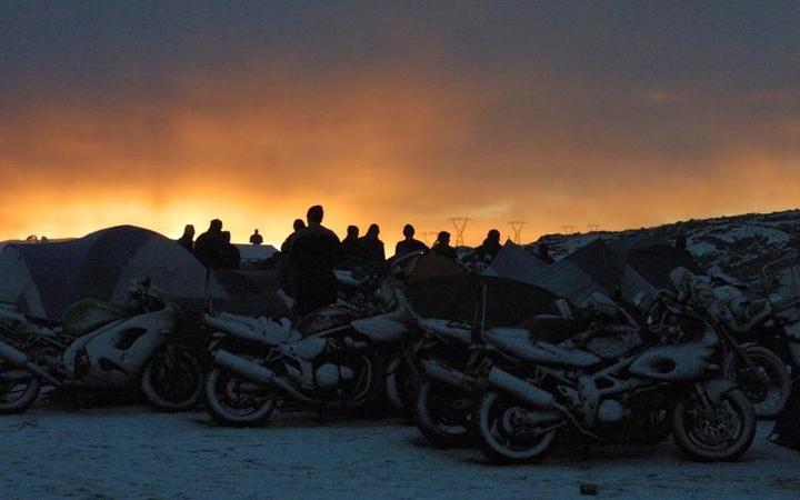 The Brass Monkey Motorbike Rally in Central Otago