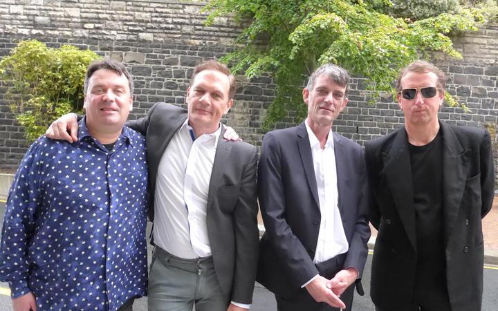 Martin Phillipps, Shayne Carter, Graeme Downes, David Kilgour