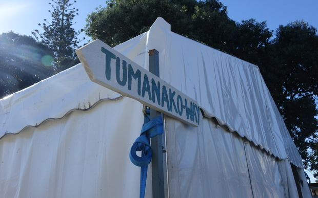 A path next to Te Puea marae has been given the fitting name of Tumanako Way, or way of hope.