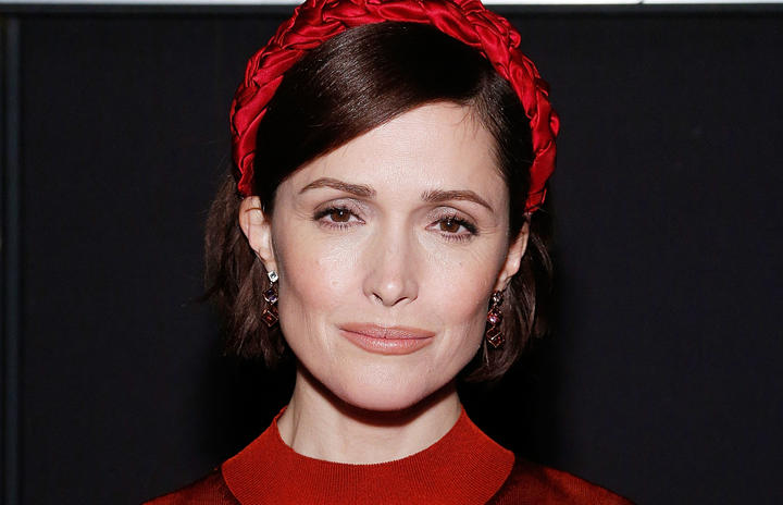 """Actress Rose Byrne attends the BAM opening night after party for """"Medea"""" at Public Records on January 30, 2020 in New York City."""
