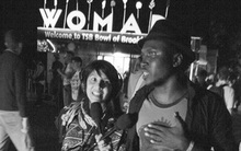 Songhoy Blues' Aliou Toure with Yadana Saw