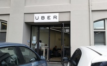 Uber's New Zealand head office in Auckland suburb Parnell