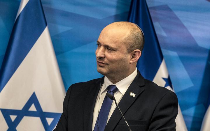Israeli Prime Minister Naftali Bennett.