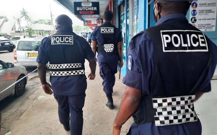 Fiji police made a spate of arrests