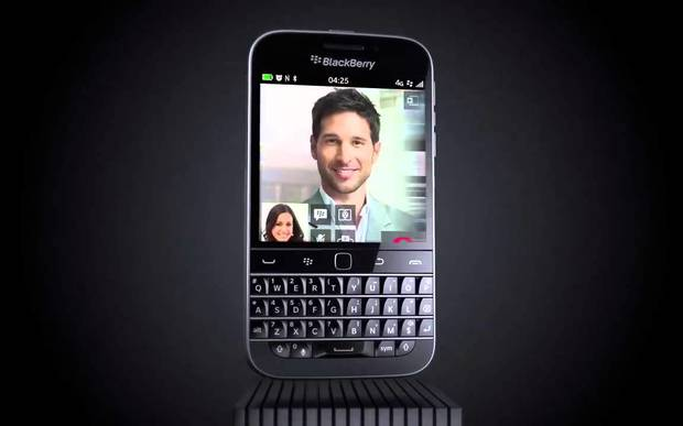 Blackberry Classic commercial