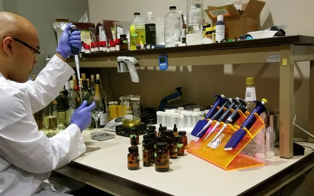 Making synthetic wine in the lab