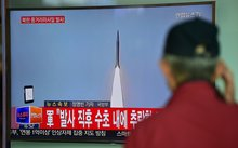 North Korea has conducted a series of missile launches in recent months.