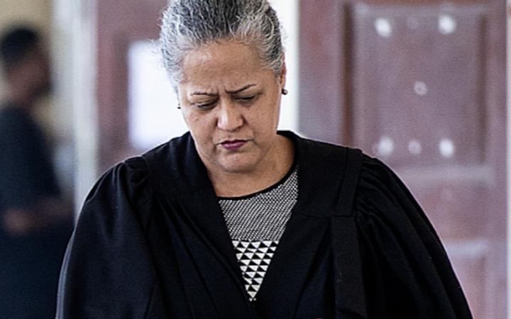 Samoa Attorney-General Savalenoa Mareva Betham-Annandale