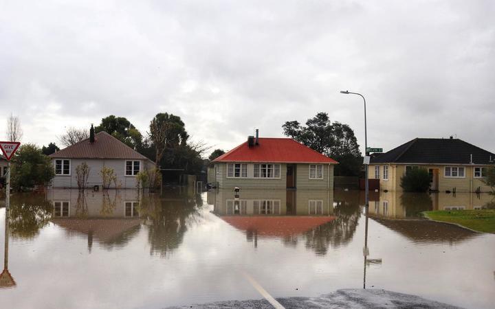 Westport Floods photographed by Anita O'Brien