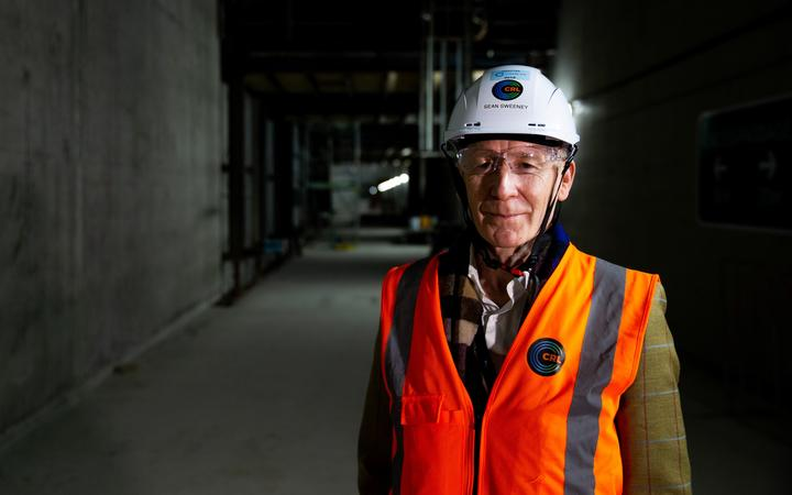 City Rail Link chief executive Dr Sean Sweeney says there are sector-wide shortages for jobs ranging from engineers and skilled technicians, through to general trades like steel fixers and welders
