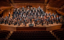 The New Zealand Symphony Orchestra with conductor and Music Director Edo de Waart