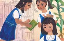 Lupe Va'ai book focuses on a young Samoan girl called Katalina who is concerned about the state of the environment she is living in.
