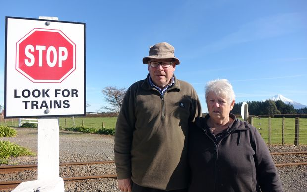 John and Helen O'Connor paid KiwiRail a one-off $300 payment when they moved onto their farm nine years ago.