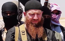 Image said to be of Omar Shishani and  made available in June 2014 by a jihadist media outlet.