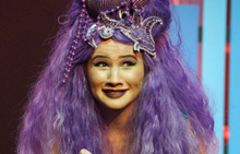 Jane Leonard in The Little Mermaid at the Court Theatre