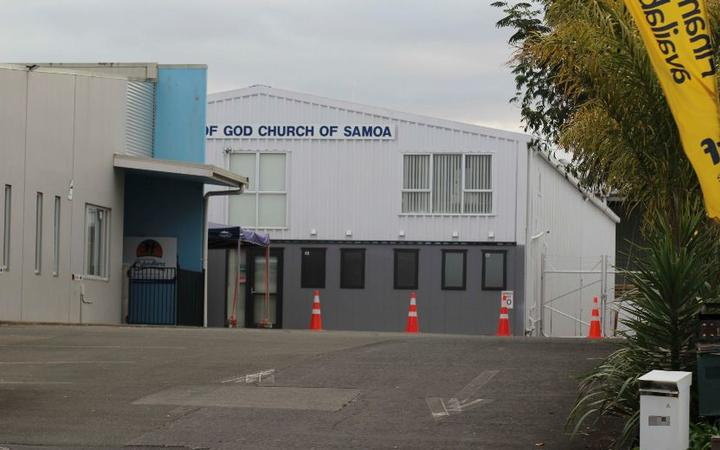 A church in Māngere has received a flurry of racially abusive messages after it was named as a location of interest.