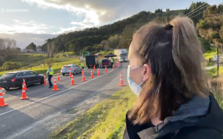 The new police outpost on the Burlander Hills is moving north from Auckland.