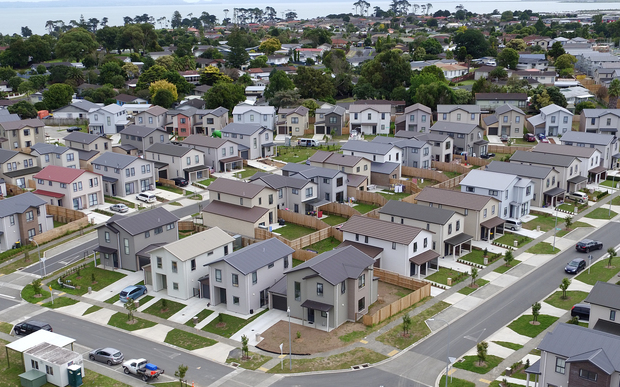 The Special Housing Area at Weymouth, established under the Auckland Housing Accord.